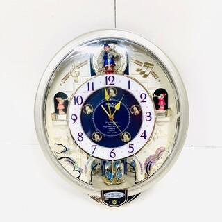 01   高級からくり時計 美品 完動品