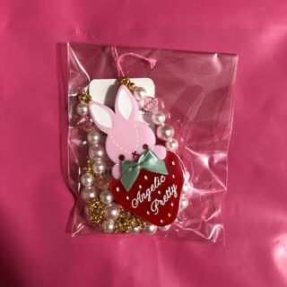 Angelic Pretty - little bunny strawberry ネックレス