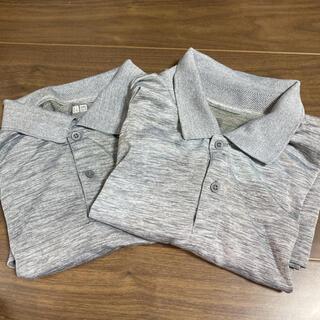 UNIQLO - ユニクロ ポロシャツ メンズ エアリズム Lサイズ