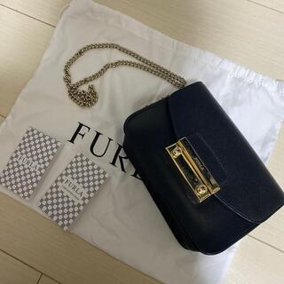Furla - FURLA フルラ メトロポリス チェーンショルダーバッグ 黒