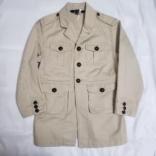 ラルフローレン(Ralph Lauren)の美品【ラルフローレン】ベージュのコート ジャケット 130cm(ジャケット/上着)