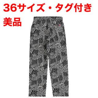 Supreme - 美品 Supreme Work Pant 36 ワークパンツ Flags 星条旗