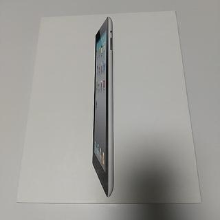 アイパッド(iPad)の【ジャンク】アップル iPad2 WiFi 32GB ブラック(タブレット)