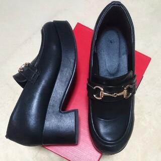 ウィゴー(WEGO)の厚底ビットローファー(ローファー/革靴)
