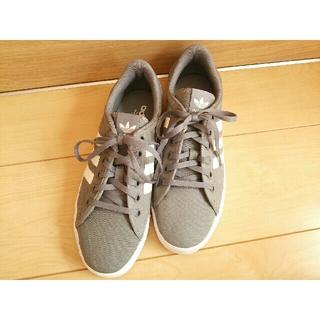 adidas - adidasスニーカー*美品アディダス*靴25cm*メンズレディース