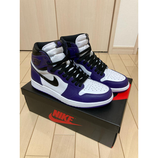 NIKE - Nike Air Jordan 1 Court Purple 28センチ