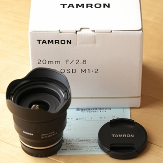 TAMRON - タムロン 20mm F/2.8 Di III OSD M1:2
