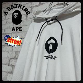 A BATHING APE - 【人気】A BATHING APE エイプ/パーカー ストリート Aape