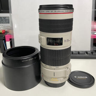 Canon - オマケ付 EF70-200mm f4l is usm