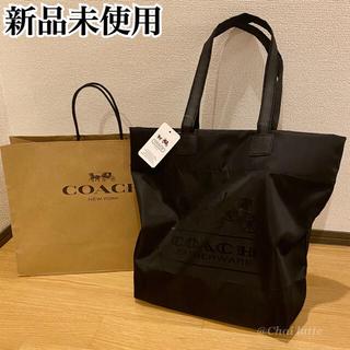 COACH - 新品未使用 COACH コーチ トートバッグ エコバッグ ナイロン 男女オススメ