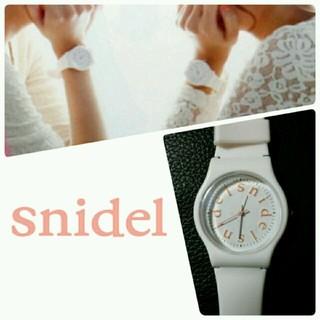 スナイデル(snidel)のsnidel    腕時計(腕時計)
