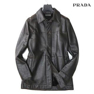 PRADA - プラダ PRADA 48万最高級本革シープファコート
