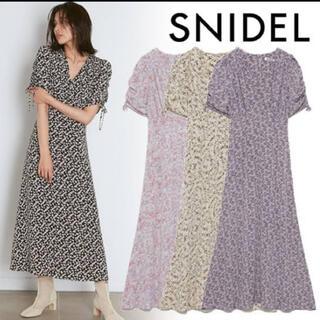 snidel - SNIDEL バリエーションプリントワンピース