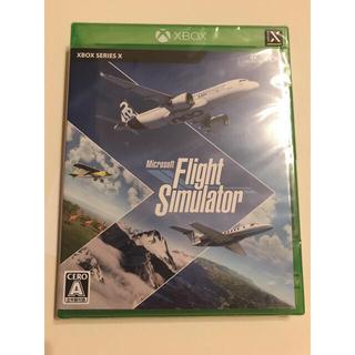 Xbox エックスボックス ソフト Flight Simulator 新品未開封(家庭用ゲームソフト)