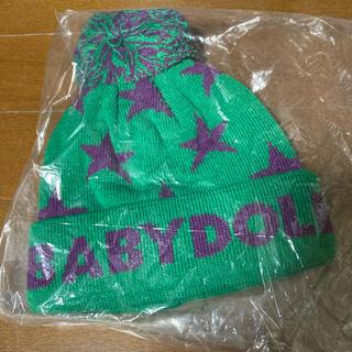 ベビードール(BABYDOLL)の『新品』BABYDOLL  ニット帽 サイズ46〜50センチ(帽子)