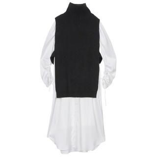 Ameri VINTAGE - VEST LAYERED SHIRT DRESS