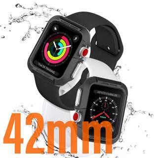 アップルウォッチ(Apple Watch)のRugged Armor Apple Watch 3 42mm ケース カバー(腕時計(デジタル))