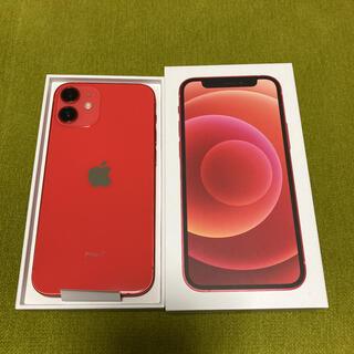iPhone - 新品 iPhone12mini 128GB PRODUCT RED SIMフリー