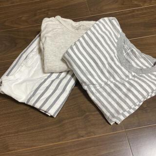 ムジルシリョウヒン(MUJI (無印良品))の無印 メンズL ロンT 3着セット(Tシャツ/カットソー(七分/長袖))