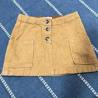 ザラキッズ(ZARA KIDS)のZARAKIDSコーデュロイスカート(スカート)