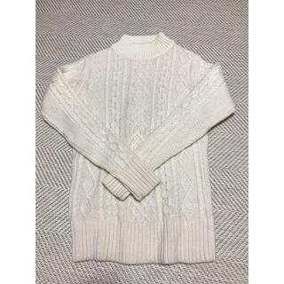 ムジルシリョウヒン(MUJI (無印良品))の無印良品 新品未使用 セーター レディース(ニット/セーター)
