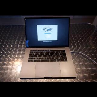 Mac (Apple) - 定価45万 MacBook Pro 15inc 2018 touchbar 付き