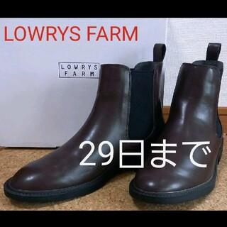 ローリーズファーム(LOWRYS FARM)のLOWRYS FARM ローリーズファーム サイドゴアブーツ L(ブーツ)