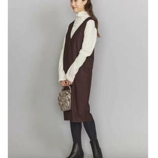 BEAUTY&YOUTH UNITED ARROWS - ユナイテッドアローズ サキソニージャンバースカート