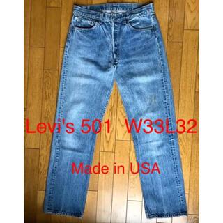 Levi's - USA製 Levi's 501 ジーンズ W33 L32