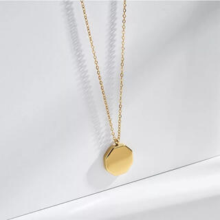 【silver 925】octagon necklace