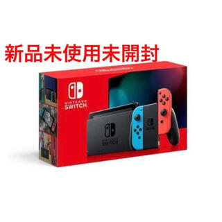 Nintendo Switch - 【新品】 任天堂スイッチ本体 ネオンブルーネオンレッド 任天堂Switch