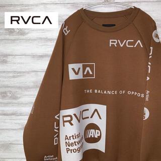 ルーカ(RVCA)の入手困難 激レア ルーカ RVCA  長袖トレーナー 総柄(スウェット)
