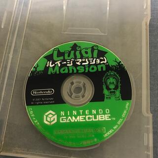 ニンテンドーゲームキューブ(ニンテンドーゲームキューブ)のルイージマンション ゲームキューブソフト gc(家庭用ゲームソフト)