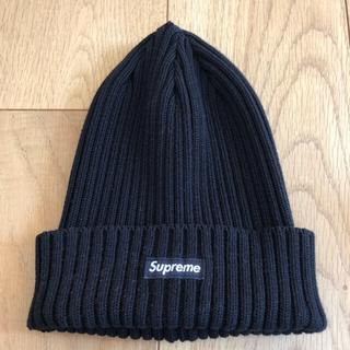 シュプリーム(Supreme)のsupreme シュプリーム overdyed beanie ビーニー ニット帽(ニット帽/ビーニー)