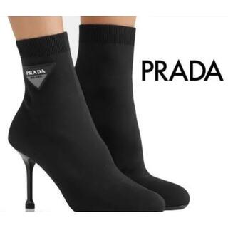プラダ(PRADA)のPRADA ストレッチブーツ(ブーツ)