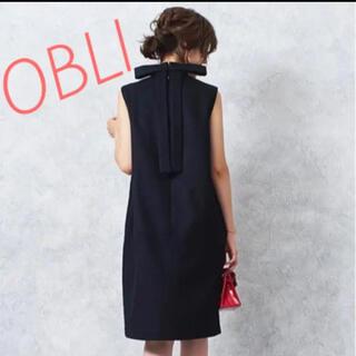 OBLI オブリ バックリボンワンピース♡ 新品未使用