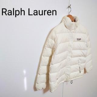 ラルフローレン(Ralph Lauren)の【Ralph Lauren】 POLO JEANS ロゴ刺繍ダウンジャケット(ダウンジャケット)