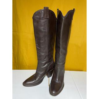 ファビオルスコーニ(FABIO RUSCONI)のファビオルスコーニ ヒール レザー ブーツ(ブーツ)