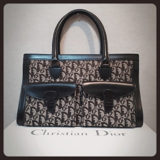 Christian Dior - Christian Dior☆クリスチャンディオール トロッターハンドバッグ