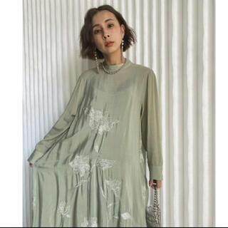 アメリヴィンテージ(Ameri VINTAGE)のAmeri 2way flower garden dress (ロングワンピース/マキシワンピース)