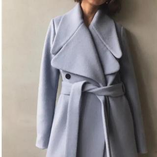 アメリヴィンテージ(Ameri VINTAGE)のAmeri vintage ウールコート ブルー(ロングコート)
