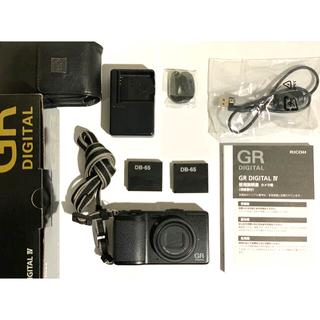 リコー(RICOH)のRICHO GR DIGITAL IV(コンパクトデジタルカメラ)