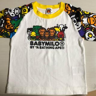アベイシングエイプ(A BATHING APE)のAPE 長Tシャツ 【美品】(Tシャツ/カットソー)