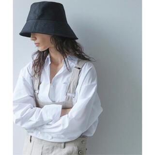 ドゥーズィエムクラス(DEUXIEME CLASSE)のLa Maison de Lyllis メゾンドリリス リネンポットハット 帽子(ハット)