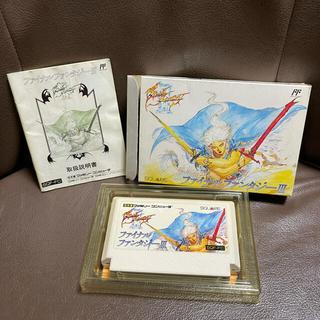 任天堂 - ファイナルファンタジーⅢ ファミコンソフト