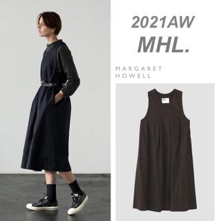 MARGARET HOWELL - 今期新作 MHL プリーツワンピース 2021AW