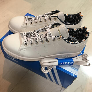 adidas - 新品ꕤマリメッコ×アディダス スタンスミス24.5cm 希少