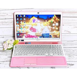 SONY - 【美品】めちゃ可愛ピンク i5 大容量 たっぷり保存 すぐ使えて大画面 カメラ付