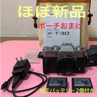 富士フイルム - ほぼ新品 富士フィルム XT30 おまけ付き