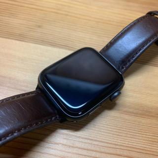 アップルウォッチ(Apple Watch)のアップルウォッチSE 44mm セルラー(腕時計(デジタル))